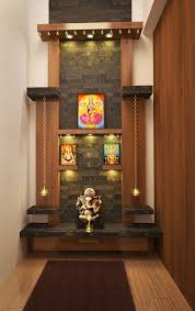 modern pooja room designs in living room dream home pooja room