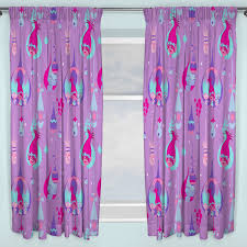 Ready Made Children S Curtains Trolls Curtains Childrens Bedroom Also Images Of Interalle Com