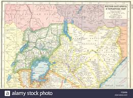Map Of Uganda Africa by Kenya Uganda British East Africa Uganda Protectorate Harmsworth