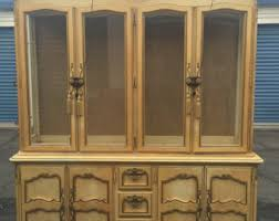 French Country Buffet And Hutch by French Country Hutch Etsy