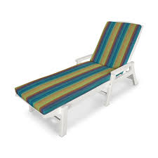 Outdoor Chaise Lounge Ateeva 72 L X 22 W Outdoor Chaise Lounge Cushion By Polywood