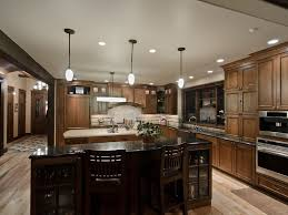 Brookhaven Kitchen Cabinets Cup Hardware Walnut Countertops Apron Sink Inset Cabinets