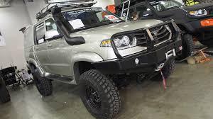 uaz hunter trophy uaz patriot pickup 4x4 offroad tuning exterior walkaround