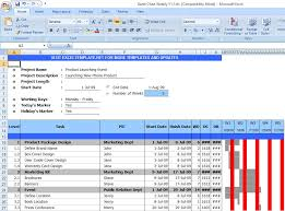 gantt chart excel template free download from exceltemplatesinn