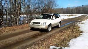 lexus rx for sale victoria lexus vs ford stuck in snow youtube