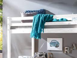 Kiefer Schreibtisch Hochbett Mit Schreibtisch Dean 90x200 Kiefer Weiß Massivholz Bett