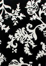 Modern Black And White Rugs Black And White Area Rugs 3x5 Deboto Home Design Contemporary