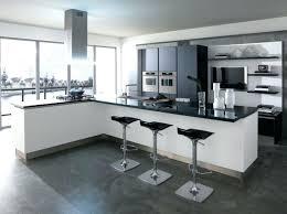 modele cuisine avec ilot modele cuisine cuisine avec bar cuisine ouverte avec