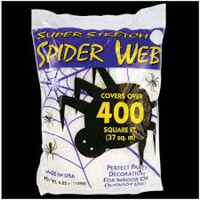 giant stretch spiders web halloween decorations mad about horror