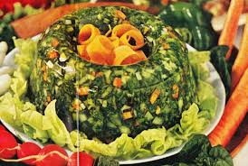 why were there so many gelatin based dishes in the 1950s and 60s