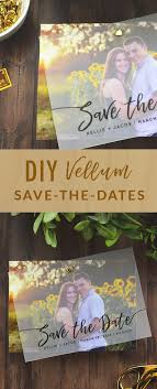 diy save the dates diy layered vellum save the date cards cards pockets design