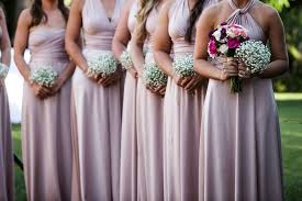 of 15 pink convertible dress set long pink infinity dress