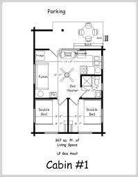 one bedroom cabin floor plan exceptional plans botilight com