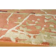 Impressions Rugs Flooring Elegant Bliss Orange Momeni Rugs With Modern White