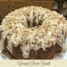 Homemade Coconut Cake by Coconut Pecan Bundt Cake Recipes And Ramblings With The