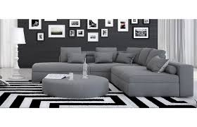 Wohnzimmer Couch G Stig Stoffsofa Ari Ecksofa In Grau Stoffsofa Pinterest