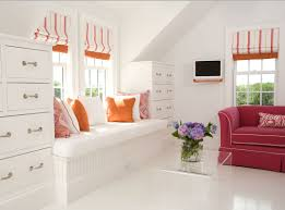 cool storage ideas the built in drawers around dormer no wasted