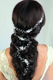 hair crystals 32 beautiful and refined bridal hair vine ideas weddingomania