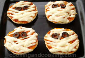 halloween mummy pizza recipe recipes for kids cooking and cooking