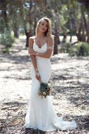 charming sweetheart long mermaid lace wedding dresses
