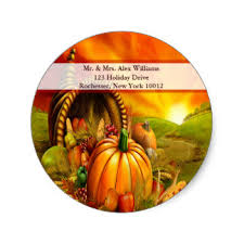 thanksgiving stickers zazzle