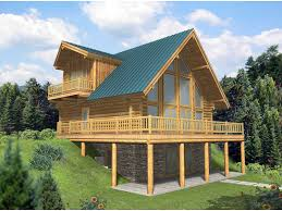 a frame house plan leola raised a frame log home plan 088d 0046 house plans and more