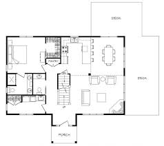 house plans open concept cozy 7 one story house plans with open concept modern single your