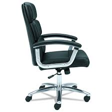 Office Star Leather Chair Amazon Com Basyx By Hon Executive Task Chair Mid Back Leather