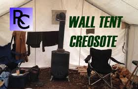 Wall Tent by Wall Tents Wood Stoves U0026 Creosote Buildup Youtube
