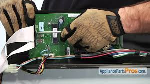 duet dryer control board part wp8546219 how to replace youtube