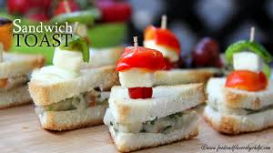 healthy canapes dinner veg sandwich recipe easy healthy breakfast recipe by shilpi