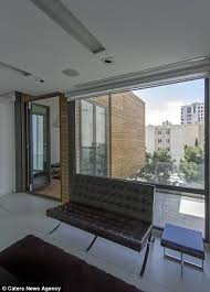 Guest Bedroom And Office - tehran home with moveable rooms all at push of a button daily