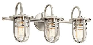 Kichler Light Fixtures Kichler Lighting Caparros Bathroom Light Style Bathroom