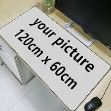 bureau personnalisé fffas diy personnalisé 120 cm x 60 cm souris pad grande image