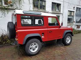 land rover ninety land rover defender low mileage archives olivers classics