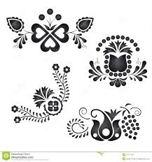 traditional folk ornaments royalty free stock image image 27771796
