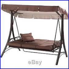 mainstays swing hammock seat chair outdoor patio canopy lounger