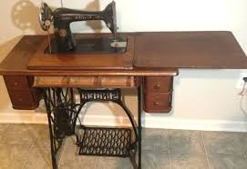 sewing machine table ideas antique sewing machine table value medium size of magnificent