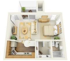 Great Small Apartment Ideas Download Small One Bedroom Apartment Home Intercine