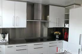 plan de travail en inox pour cuisine cuisine credence inox evier de cuisine inox ikea plan de travail