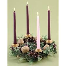 advent wreath candles christmas advent gift set 11 inch brass ring wreath