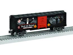 box car train lionel trains lionel 6 84332 halloween spookysounds boxcar