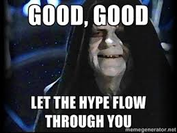 Humor Memes - when the hype train hits humor memes starwars humor memes com