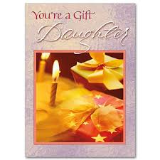 you u0027re a gift daughter family birthday card for daughter