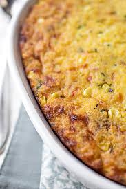 cornbread casserole with vermont cheddar