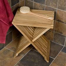 Wooden Shower Stool Corner Teak Shower Seat Teak Shower Seat Ideas U2013 Home Design By John
