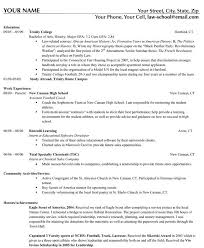 sample resumes free resume tips templates high examples