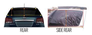 dodge ram rear window how to measure your rear window for a rear window decal