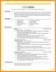 hospitality resume u2013 inssite