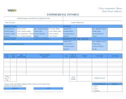 proforma invoice template xls commercial sample incoterms pr saneme